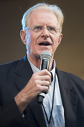 "October 23, 2016 - Los Angeles, California, United States - Actor and environmentalist, Ed Begley Jr, attends Climate Revolution Rally in Los Angeles, California. October 23, 2016. The rally is part of a series of ""Climate Revolution"" rallies held across the country to inform people about issues related to climate change and social justice. (Credit Image: © Ronen Tivony/NurPhoto via ZUMA Press)"
