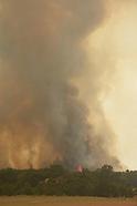Wild Fire East of Stillwater