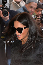 February 19, 2019 - New York, NY, USA - February 19, 2019 New York City..Meghan Markle was seen on February 19, 2019 in New York City. (Credit Image: © Kristin Callahan/Ace Pictures via ZUMA Press)