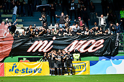 Players of NS Mura celebrates during football match between NS Mura and NK Maribor in 10th Round of Prva liga Telekom Slovenije 2018/19, on September 30, 2018 in Mestni stadion Fazanerija, Murska Sobota, Slovenia. Photo by Mario Horvat / Sportida