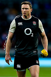 Chris Ashton of England spits water - Mandatory by-line: Robbie Stephenson/JMP - 10/11/2018 - RUGBY - Twickenham Stadium - London, England - England v New Zealand - Quilter Internationals