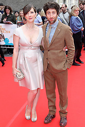 © Licensed to London News Pictures, Festival Theatre, Edinburgh International Film Festival, EIFF Closing Gala, Simon Helberg, Jocelyn Towne, 29/06/2014, Photo Credit: M.Pocwiardowski/LNP