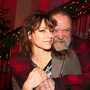 NLD/Hilversum/20151207- Sky Radio's Christmas Tree for Charity, Ellen ten Damme en Henk Schiffmacher