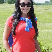NLD/Abcoude/20120530 - Gekleurde bn' ers gaan multicultureeel golfen, Hind Laroussi Tahiri