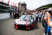 July 27-30, 2017 -  Total 24 Hours of Spa, Audi Sport Team WRT, Antonio Garcia, Nico Müller, René Rast, Audi R8 LMS
