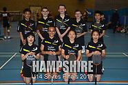 U14 Shires Finals - Team photos 2017