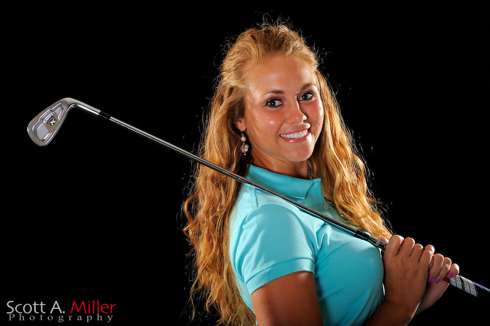 Kathleen Ekey during a portrait shoot prior to the LPGA Futures Tour's Daytona Beach Invitational at LPGA International's Championship Courser on March 29, 2011 in Daytona Beach, Florida... ©2011 Scott A. Miller