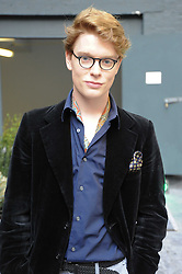 FREDDIE FOX son of actor Edward Fox at a dinner hosted by Harper's Bazaar to celebrate Browns 40th Anniversary in aid of Women International held at The Regent Penthouses & Lofts, 16-18 Marshall Street, London on 20th May 2010.
