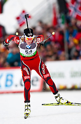 "19.01.2012, Südtirol Arena, Antholz, ITA, E.ON IBU Weltcup, 6. Biathlon, Antholz, Sprint Damen, im Bild Tora Berger (NOR) // Tora Berger (NOR) during Sprint Women E.ON IBU World Cup 6th, ""South Tyrol Arena"", Antholz-Anterselva, Italy on 2012/01/19, EXPA Pictures © 2012, PhotoCredit: EXPA/ Juergen Feichter"