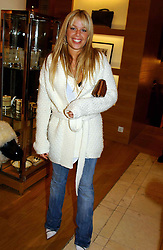 MISS WILLA KESWICK daughter of Simon Keswick at a party hosted by Burberry to launch their special collection in aid of Breakthrough Breast Cancer, held at 21-23 New Bond Street, London W1 on 5th October 2004.<br /><br />NON EXCLUSIVE - WORLD RIGHTS
