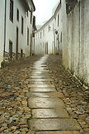 Narrow streets of the village of marvão