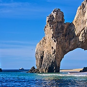 Arch at lands end. Cabo San Lucas, Baja California Sur, Mexico.