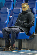 Carlos Carvalhal (Sheffield Wednesday) during the Sky Bet Championship match between Sheffield Wednesday and Queens Park Rangers at Hillsborough, Sheffield, England on 23 February 2016. Photo by Mark P Doherty.