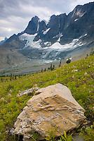 Tumbling Glacier and the Rockwall, Kootenay National Park British Columbia Canada
