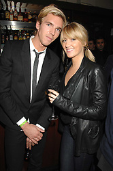 LADY EMILY COMPTON and MR JAMES COOK at a leaving party for Poppy Delevigne who is going to New York to persue a career as an actress, held at Chloe, Cromwell Road, London on 25th January 2007.<br /><br />NON EXCLUSIVE - WORLD RIGHTS