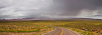 Approaching storm at Wahweap Marina, Arizona