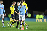 Phil Foden (47) of Manchester City during the EFL Cup match between Oxford United and Manchester City at the Kassam Stadium, Oxford, England on 18 December 2019.