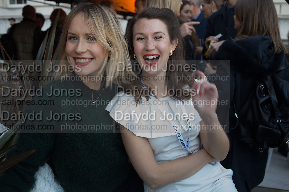 BROGAN DRISCOLL; JOSEPHINE PAYNE, Opening of Photo London,  Somerset House. London. 20 May 2015