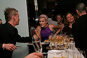Maggie Grace. Natalia Vodianova and Elle Macpherson host a dinner in honor of Francisco Costa (creative Director for women) and Italo Zucchelli (creative director for men)  of Calvin Klein. Locanda Locatelli, 8 Seymour St. London W1. ONE TIME USE ONLY - DO NOT ARCHIVE  © Copyright Photograph by Dafydd Jones 66 Stockwell Park Rd. London SW9 0DA Tel 020 7733 0108 www.dafjones.com