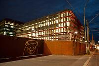 14 JUN 2010, BERLIN/GERMANY:<br /> Baustelle fuer den Neubau des Bundesnachrichtendienstes, BND, Chausseestrasse<br /> IMAGE: 20100614-02-004