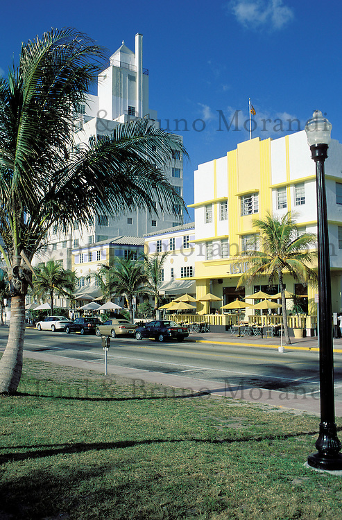 Etats-Unis, USA, Floride, Miami Beach, Art Deco district // USA, Florida, Miami Beach, Art Deco district