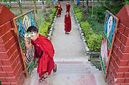 , Drepung, Karnataka, India, on  April 11, 2015.<br /> Photo by Oren Nahshon