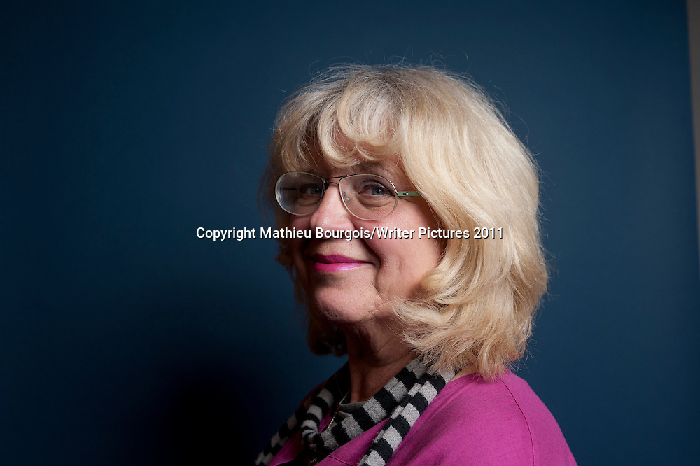 Katarina Mazetti (born 29 April 1944) is a Swedish author and journalist<br /> <br /> copyright Mathieu Bourgois/Writer Pictures<br /> contact +44 (0)20 822 41564<br /> info@writerpictures.com <br /> www.writerpictures.com