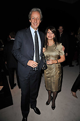 PERRY & YELENA OOSTING he is President of Vertu at a cocktail party and auction to launch the forthcoming celebrations for Mikhail Gorbachev's 80th birthday held at Christie's, 8 King Street, London on 3rd February 2011.