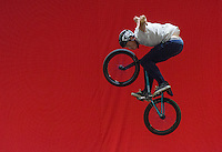LONDON UK 28TH JULY 2016:  Action Sports Display team . The Prudential RideLondon Cycling Show at the Excel Centre. Prudential RideLondon in London 29th July 2016<br /> <br /> Photo: Neil Turner/Silverhub for Prudential RideLondon<br /> <br /> Prudential RideLondon is the world's greatest festival of cycling, involving 95,000+ cyclists – from Olympic champions to a free family fun ride - riding in events over closed roads in London and Surrey over the weekend of 29th to 31st July 2016. <br /> <br /> See www.PrudentialRideLondon.co.uk for more.<br /> <br /> For further information: media@londonmarathonevents.co.uk