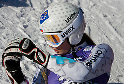 12.01.2012, Pista Olympia delle Tofane, Cortina, ITA, FIS Weltcup Ski Alpin, Damen, Abfahrt, 1. Training, im Bild Tina Weirather (LIE) // Tina Weirather of Lichtenstein during ladies downhill 1st training of FIS Ski Alpine World Cup at 'Pista Olympia delle Tofane' course in Cortina, Italy on 2012/01/12. EXPA Pictures © 2012, PhotoCredit: EXPA/ Johann Groder