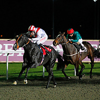 Monsea and George Baker winning the 6.40 race