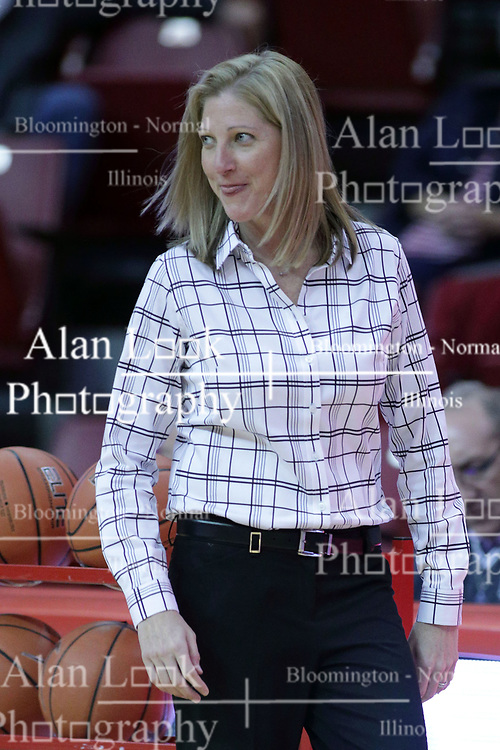 01 November 2017: Kristen Gillespie during a Exhibition College Women's Basketball game between Illinois State University Redbirds the Red Devils of Eureka College at Redbird Arena in Normal Illinois.