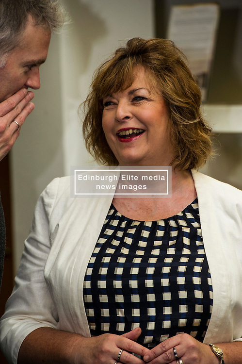 Pictured: Fiona Hyslop<br /> Culture Secretary Fiona Hyslop MSP visited Wester Hailes Library in Edinburgh today to meet primary-school pupils and Edinburgh City Council officials  to announce libraries support package<br /> <br /> Ger Harley | EEm 7 September 2016