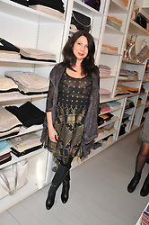 CHLOE FRANCIS at a party at De Roemer, 14 Porchester Place, London W2 on 1st May 2013.