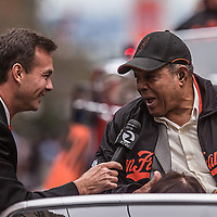San Francisco Giants World Series Victory Parade 2012 - Willie Mays