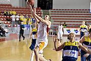 DESCRIZIONE : Eurocup 2014/15 Acea Roma Ewe Basket Oldenburg<br /> GIOCATORE : Maxime De Zeeuw<br /> CATEGORIA : tiro sottomano<br /> SQUADRA : Acea Roma<br /> EVENTO : Eurocup 2014/15<br /> GARA : Acea Roma Ewe Basket Oldenburg<br /> DATA : 12/11/2014<br /> SPORT : Pallacanestro <br /> AUTORE : Agenzia Ciamillo-Castoria /GiulioCiamillo<br /> Galleria : Acea Roma Ewe Basket Oldenburg<br /> Fotonotizia : Eurocup 2014/15 Acea Roma Ewe Basket Oldenburg<br /> Predefinita :