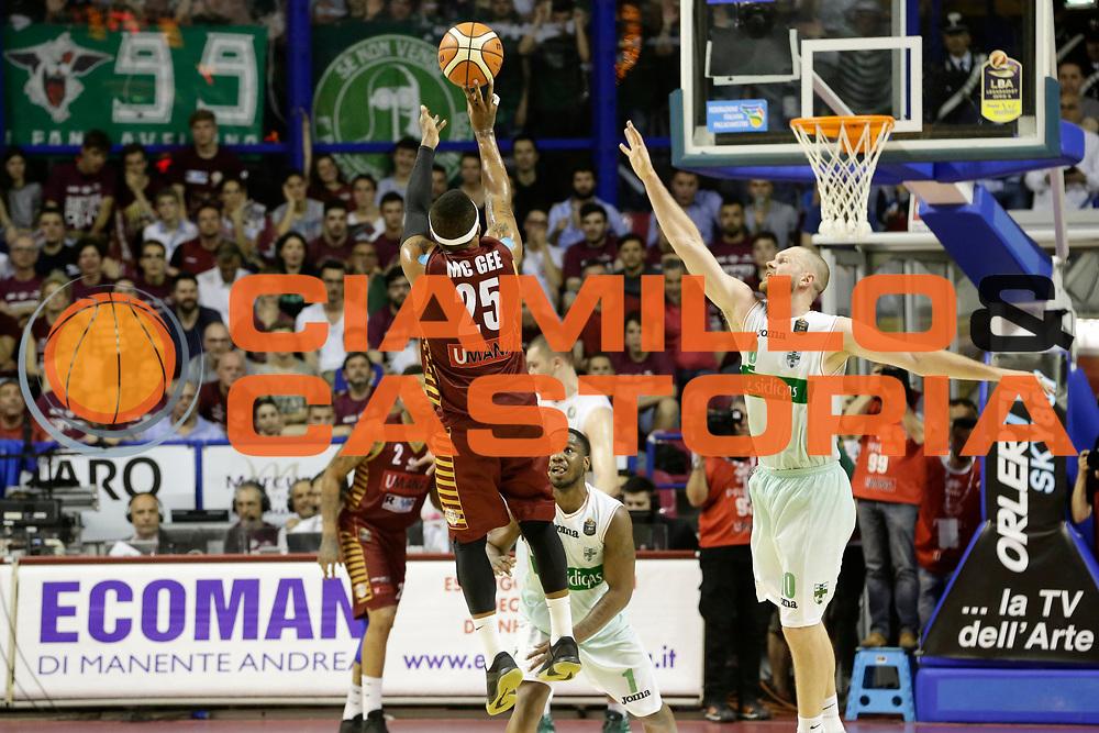 Tyrus Mcgee<br /> Umana Reyer Venezia - Sidigas Scandone Avellino<br /> Lega Basket Serie A 2016/17 Semifinali Gara 01<br /> Venezia, 26/05/2017<br /> Foto Ciamillo-Castoria / M. Brondi