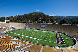 BERKELEY, CA - SEPTEMBER 08: General view of Memorial Stadium before the game between the California Golden Bears and the Southern Utah Thunderbirds on September 8, 2012 in Berkeley, California. The California Golden Bears defeated the Southern Utah Thunderbirds 50-31. (Photo by Jason O. Watson/Getty Images) *** Local Caption ***