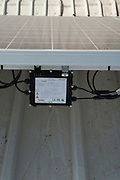 Electric meters and control from Electricity converting solar panels . With the reduction on cost of ownership of these panels, combined with the rise in the cost of electricity have created a positive return on investment on solar electricity. The surplus electricity is sold to the electric company for distribution