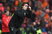 15/03/15 SCOTTISH LEAGUE CUP FINAL<br /> DUNDEE UTD v CELTIC<br /> HAMPDEN - GLASGOW<br /> Celtic manager Ronny Deila