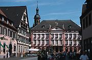 Deutschland, Germany,Baden-Wuerttemberg.Schwarzwald.Gengenbach, Rathaus.Gengenbach, guild hall...
