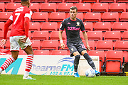 Leeds United defender Ezgjan Alioski (10) during the EFL Sky Bet Championship match between Barnsley and Leeds United at Oakwell, Barnsley, England on 15 September 2019.