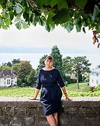 Pully, septembre 2018. Carole Schwander, directrice RH, cheffe du personnel de la ville de Pully.  © Olivier Vogelsang