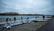 Caversham, United Kingdom. Crew boat for the 2015 GBRowing Team, December Trials at the Training Base Nr Reading.<br /> <br /> Saturday  19/12/2015<br /> <br /> [Mandatory Credit; Peter SPURRIER/ntersport Images] [Mandatory Credit; Peter SPURRIER/Intersport Images]