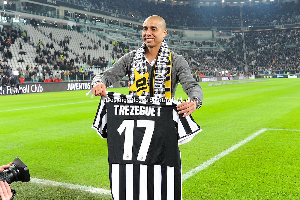 David Trezeguet - 05.01.2014 - Juventus Turin / AS Roma - 18eme journee de Serie A<br /> Photo : Garavaglia / Aldo Liverani / Icon Sport