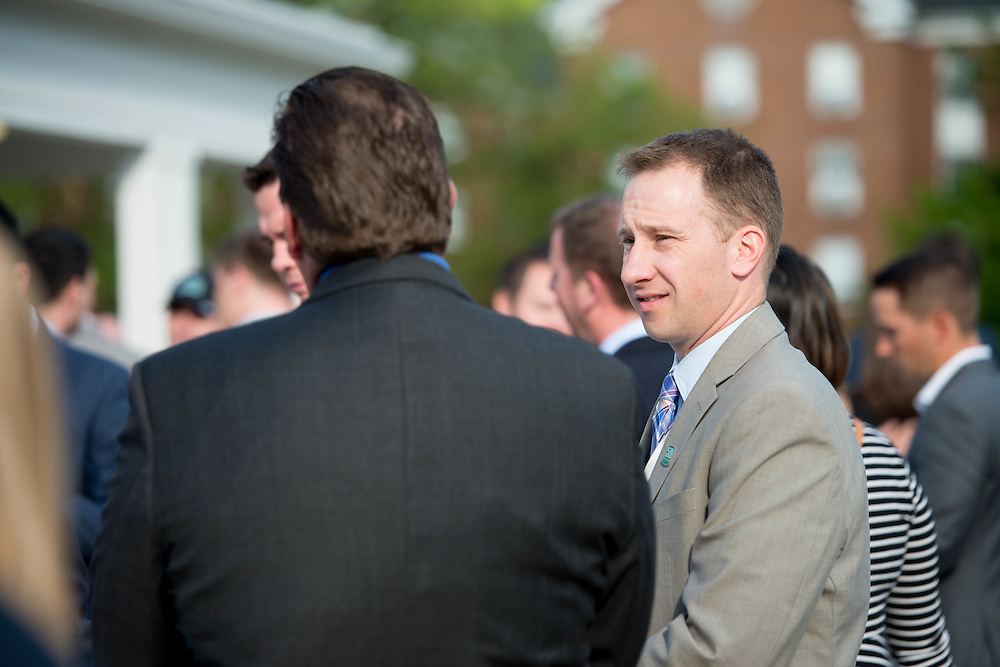 The Charles R. Higgins Distinguished Alumnus Award Banquet outside of Nelson Commons. © Ohio University/ Photo by Kaitlin Owens