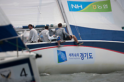 Action from the Pro-am race at the Korea Match Cup 2009, Gyeonggi-do, Korea. 2 June 2009.