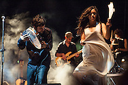 Nidi d'Arac in Concerto a Torrepaduli, Lecce. 19 agosto 2008.