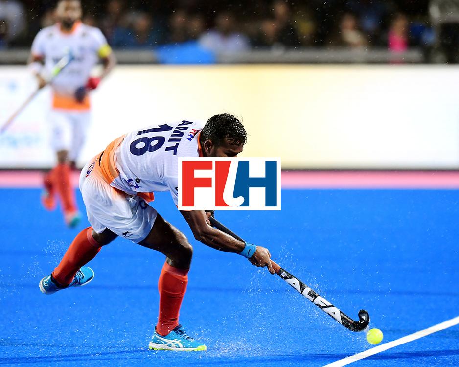 Odisha Men's Hockey World League Final Bhubaneswar 2017<br /> Match id:19<br /> India v Argentina<br /> Foto: Gonzalo Peillat (Arg) and Mandeep Singh (Ind) <br /> COPYRIGHT WORLDSPORTPICS FRANK UIJLENBROEK