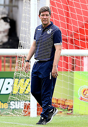 Bristol Rovers Manager Darrell Clarke arrives at Exeter City for the preseason friendly ahead of the Sky Bet League One Season - Mandatory by-line: Robbie Stephenson/JMP - 16/07/2016 - FOOTBALL - St James Park - Exeter, England - Exeter City v Bristol Rovers - Pre-season friendly
